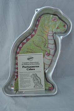 Michaels Wilton Dinosaur Cake Pan