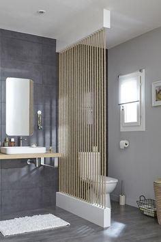 Séparer les toilettes du lavabo