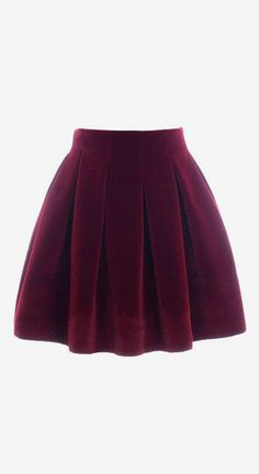 I would love a burgundy circle/mini skirt...wear black hose and either knee high or able booties with it. Appropriate for work with the leggings.