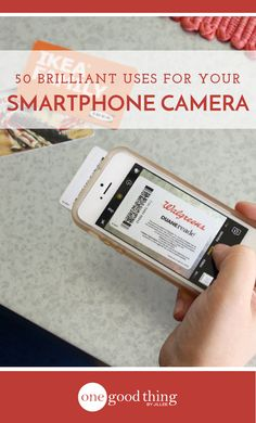 The camera in your smartphone is much more useful than you might think! Check out this list of 50 different ways to use it to make your life easier!