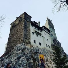 Up on the rock. #Bran #Castle #Nrasov #Transilvania #Transylvania #Siebenbürgen #Romania