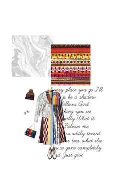 """""""#742"""" by joktojotta ❤ liked on Polyvore featuring Balmain, Emilio Pucci, McQ by Alexander McQueen, Paco Rabanne, Christian Dior, Pendleton, Silver, pattern, beanies and geometrical"""