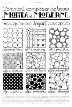 French patterns