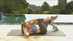 5 Floor Exercises to Tone You Up  includes video clip of each exercise