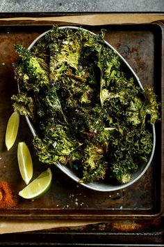 Easy, addictive and loaded with bright flavors, this is your new favorite way to prepare kale Buy more kale than you think you need; these go fast.