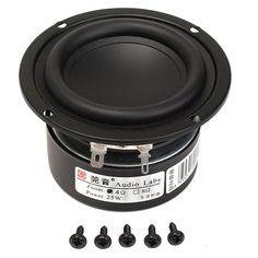 3inch 4Ohm 25W Full Range Audio Speaker Stereo Woofer Loudspeaker Horn