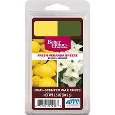 Better Homes and Gardens Duo Wax Cubes, Fresh Veranda Breeze - Walmart.com