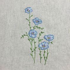 #embroidery #linen handembroidery