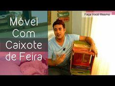 Caixote de Feira - Adega - Como Envelhecer Madeira Com Café - YouTube