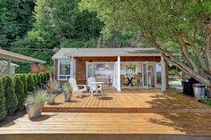 11 Reasons We Want to Move Into This Tiny Beach House Immediately - Tyee Beach Camano Island Washington Real Estate