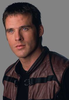 """Ben Browder - John Crichton (Character) from """"Farscape"""" Sci Fi Series, Tv Series, Hallmark Mysteries, Ben Browder, Best Sci Fi Shows, Michael Shanks, Hottest Male Celebrities, Yesterday And Today, Beads"""