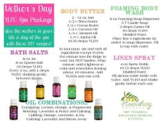 Mother's Day Gifts Using Essential Oils!