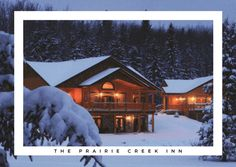 The Prairie Creek Inn Bed & Breakfast - The Travelling Tunia. Nestled in West Central Alberta lies an exclusive bed and breakfast country Inn, restaurant and conference center