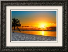 Key West Sunrise Reflection Premium Giclee Print by Vaughn Garner at Art.com - guest book?