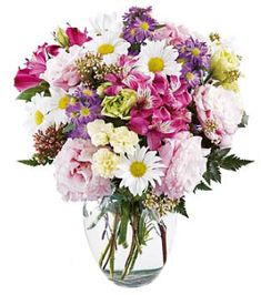 Expresses your love or friendship Summer Flowers . This bouquet of pink alstromeira, pink lisianthus, cream lisianthus, yellow mini carnations, purple montecasino expresses your love or Friendship Summer Flowers, Fresh Flowers, Pretty Flowers, Online Florist, Local Florist, Carnation Bouquet, Mini Carnations, Virtual Flowers, Same Day Flower Delivery