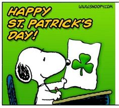 76 best peanuts gang st patty s day images on pinterest peanuts