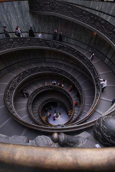 Vatican Museum stairs | Flickr – Compartilhamento de fotos!