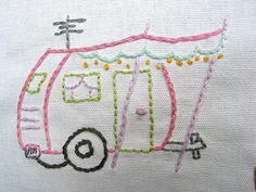 travel trailer embroidery