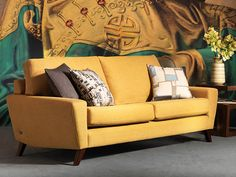 Yes, this gorgeous G Plan Vintage sofa and matching chair & footstool are all in the sale!