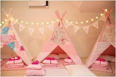 Dicas para festa do pijama com cabaninhas - Just Real Moms