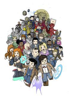 Lego Doctor Who!