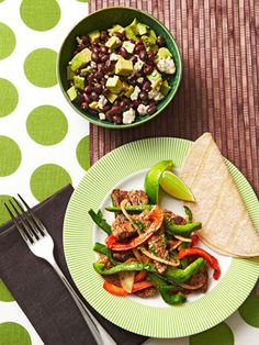 Beef Stir-Fry with Avocado Salad http://www.fitnessmagazine.com/recipes/quick-recipes/dinner/dinner-in-20-easy-healthy-dinner-recipes/