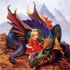 darrell k. sweet - dragon on a pedestal