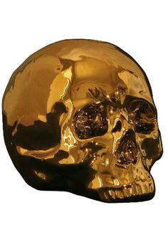 Seletti Limited Edition Gold Skull