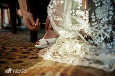 Preparação dos noivos.