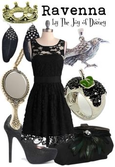 Inspired by Ravenna, the Evil Queen from Snow White & the Huntsman!