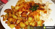 Tepsis sajtos-tejfölös csirkemell recept képpel. Hozzávalók és az elkészítés részletes leírása. A tepsis sajtos-tejfölös csirkemell elkészítési ideje: 55 perc