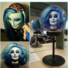 @michellenyree made her own #madamleota ! #hauntedmansion