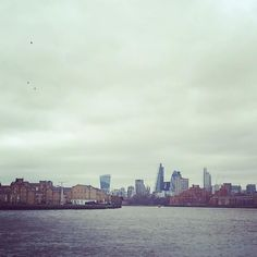 London City view from the Canary Wharf #london #city #view #canarywharf #morning #river #bigcity #life #grey #beauty #f4f #followme #вид #лондон #путешествия #москва #вид #река #город by dolcetatjana