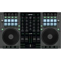 Gemini is a pro 4 Channel DJ controller for mobile and performance DJs alike. The controller features a rugged metal casing and 8 trigger pads. Usb, Hello Music, Digital Dj, New Dj, Dj Gear, All About Music, 4 Channel, Musical, Gemini