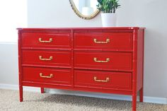 Natty by Design: Laminate Tops - Embrace Them! how to paint laminate topped dressers