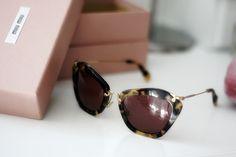 Want these Miu Miu sunglasses so bad :(