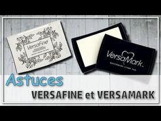 [MATÉRIEL] Astuces avec les Encres Versamark et Versafine - YouTube