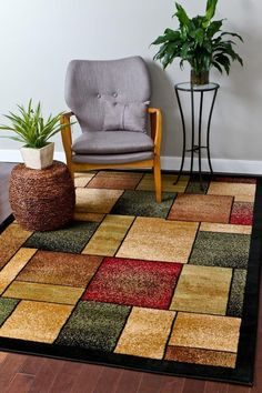 Abstract Rugs | Contemporary Rugs | Cheap Area Rugs | Discount Rugs - Bargain Area Rugs