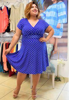 Plus Size You're Too Precious Dress from Elohai Plus Size Boutique