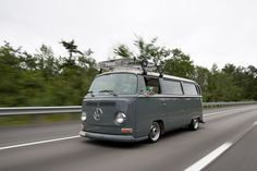 1960's Porshce VW Bus. Slammed...