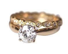 Rlovehome Round Cut 6.5 mm 1ct Charles and Colvard Moissanite Diamonds 14k Yellow Gold Engagement Ring Wedding Ring Anniversary Ring Set (J) Rlovehome http://www.amazon.co.uk/dp/B019XNGZ26/ref=cm_sw_r_pi_dp_xj18wb0KPSTA3