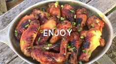 How To Make Honey Ginger Soy Chicken Wings