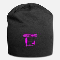 Abstand halten covid-19 funny Bild pink Ideales Geschenk für Männer, Herren und alle :-) Design für T-Shirt, Tassen, Masken usw. T Shirt Pink, Pink Beanies, Funny Tshirts, Design, Funny T Shirts, Guy Presents, Masks, Design Comics