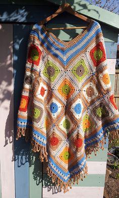 Ravelry: Pacha Poncho pattern by zelna olivier $4.00