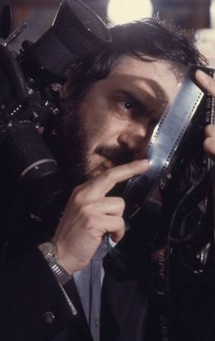 "criterionfilms: "" Stanley Kubrick, operating behind the scenes. """