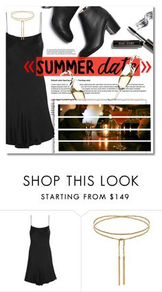 """""""Up On The Rooftop..."""" by chocohearts08 ❤ liked on Polyvore featuring Paul Andrew, Bobbi Brown Cosmetics, summerdate, paulandrew, rooftopbar and KateMossforEquipment"""