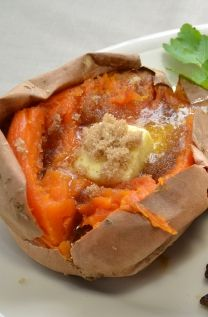 Perfect Baked Sweet Potato