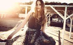 Cómo usar las faldas largas para lucir con estilo y más delgada...