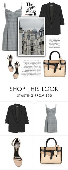 """Be classy"" by little-vogue ❤ liked on Polyvore featuring MANGO, Yves Saint Laurent, Reed Krakoff, classy, fashiontrend and polyvorecontest"