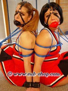 Hot cheerleader sex bondage 12